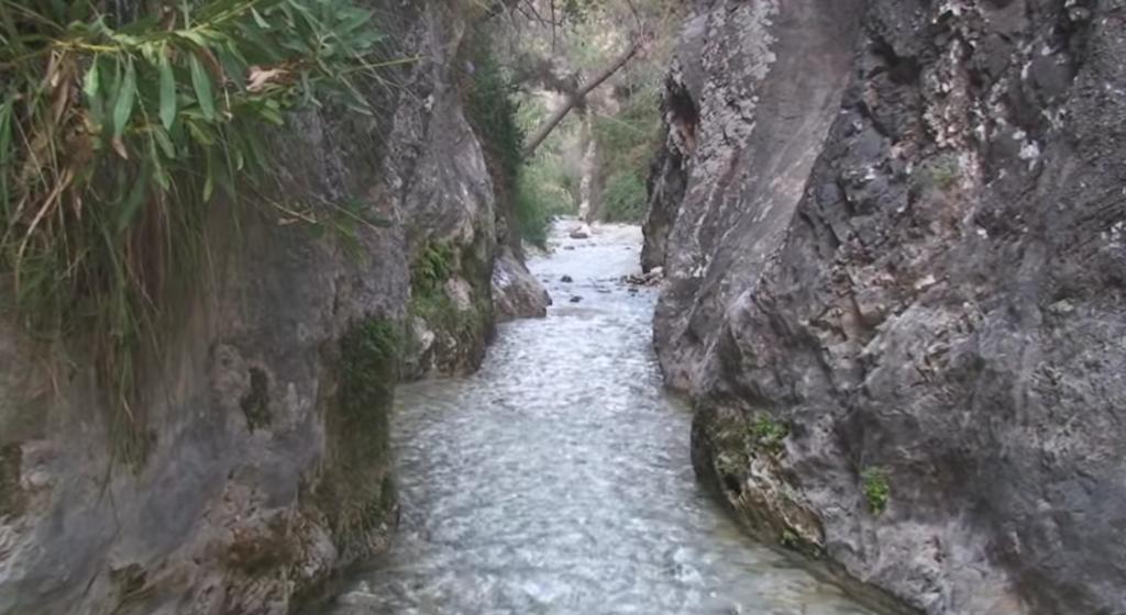 wandeling door de Rio Chillar