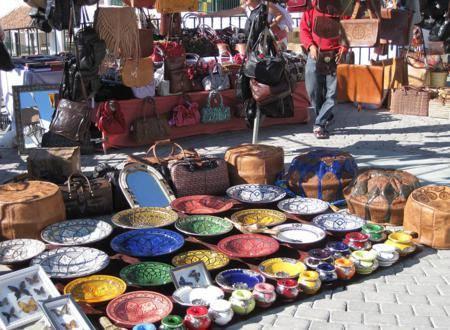 Zaterdagmarkt Competa bij vakantiehuis Casa Solar