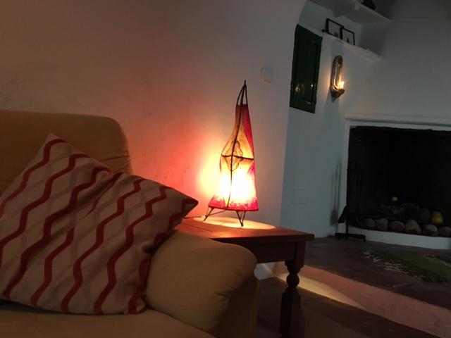 knusse zithoek 6 persoons vakantiehuis Malaga | Casa Solar