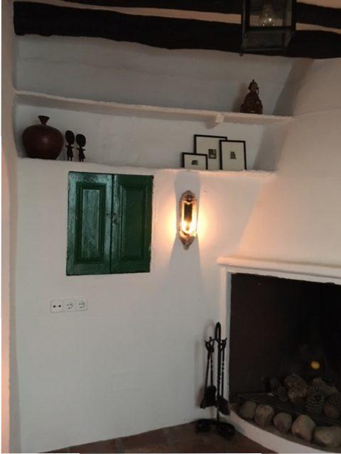 haardpartij bij vakantiewoning Zuid Spanje | Casa Solar